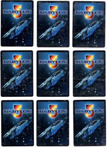 Babylon 5 ccg The Shadows Rare cards Precedence 4//4