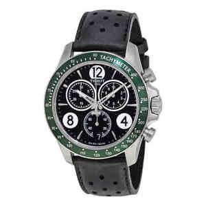9d0ac172177 Tissot V8 Chronograph Black Dial Men s Watch T106.417.16.057.00 ...