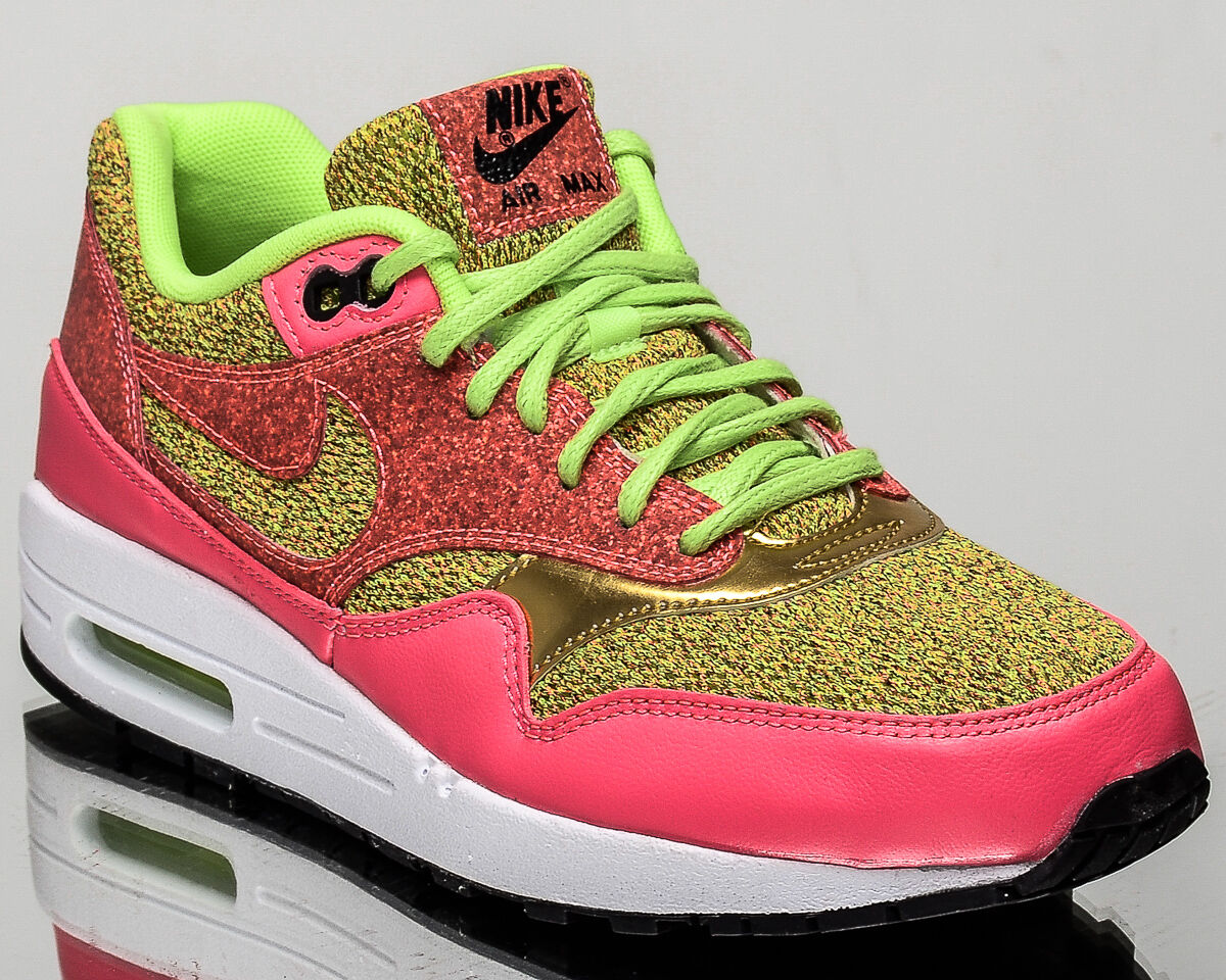 Nike WMNS Air Max 1 SE femmes lifestyle casual baskets NEW vert 881101-300