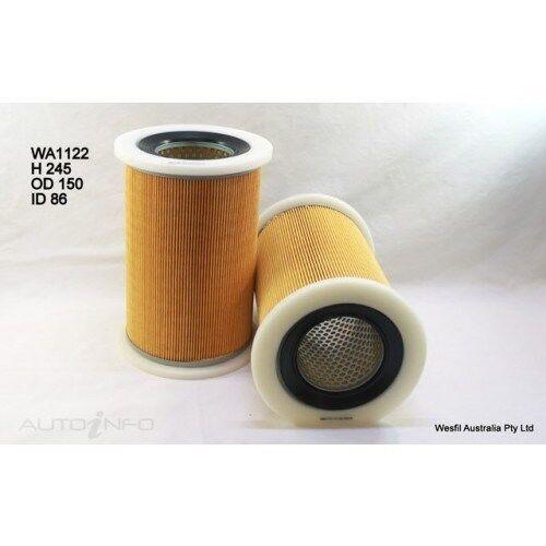 Wesfil Air Filter fits Mazda B2500 Bravo 2.5L TD 2000-2006 WA1122 A1447