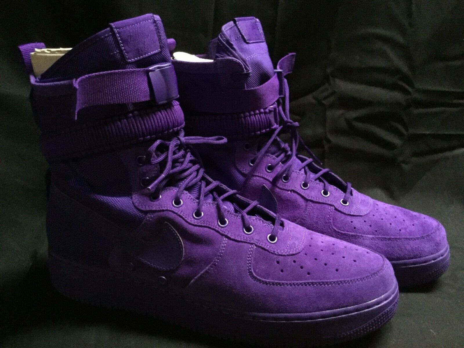 NEW, NIKE SF AF1 Special Air Force 1 One High Boot Court Purple Size 15