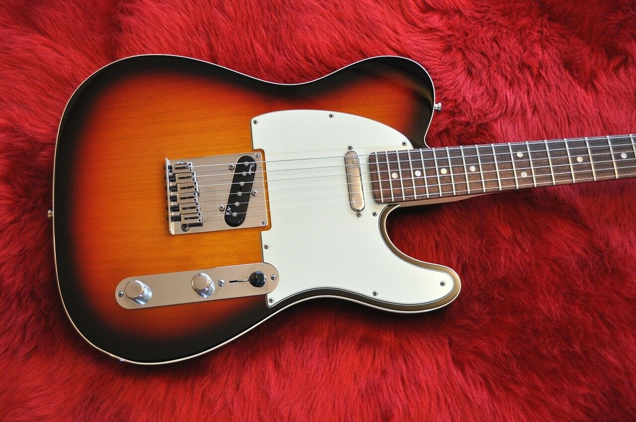 Fender American Deluxe Telecaster N3 3TS 2013 JAPAN beautiful rare EMS F S