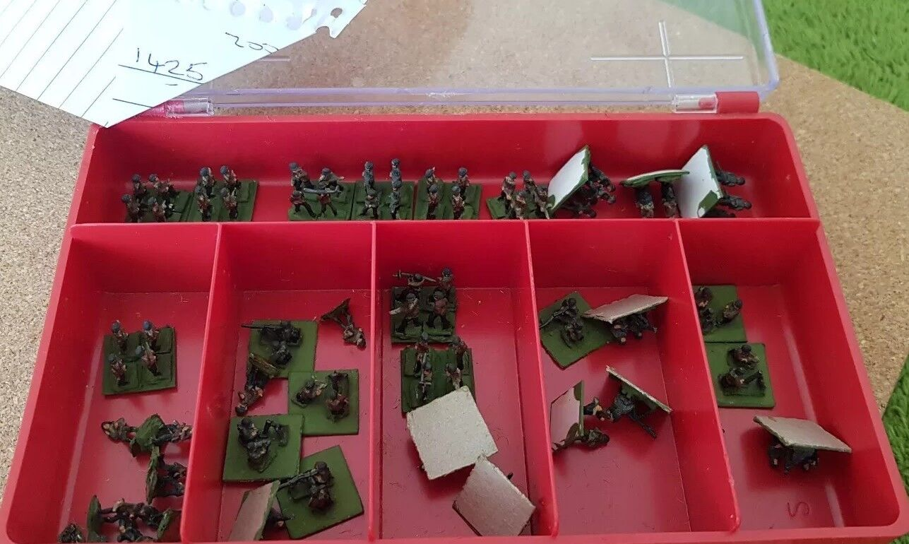 WW2 Ground Forces - German Infantry - 10mm scale