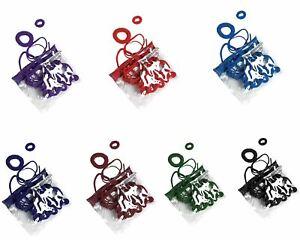 Back to School Elastic Hair Bands Bobbles Ponio Accessories 28 Piece Set
