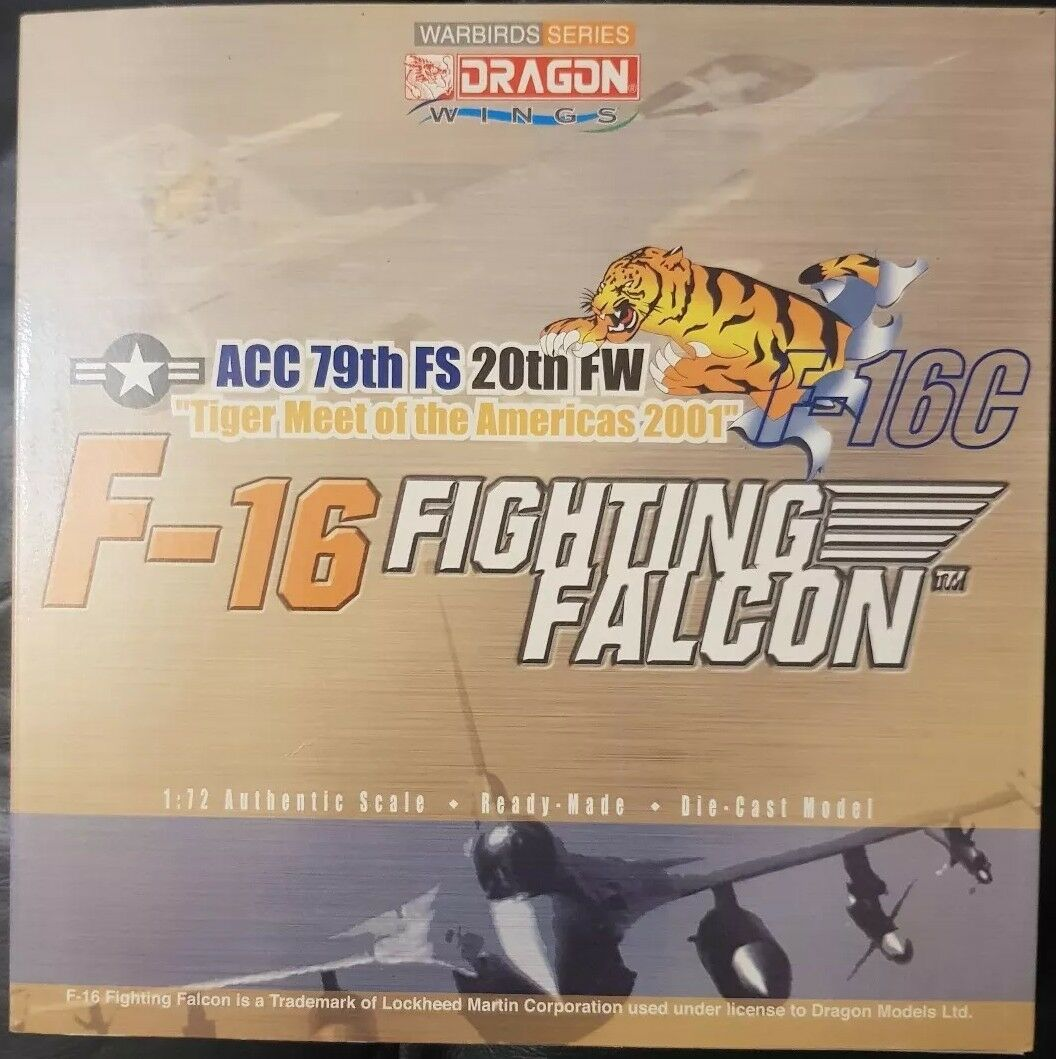 Dragon Wings Warbird  Series F-16 Fighting Falcon Tiger Meet of the Americas50008  expédition rapide à vous