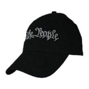 We The People Hat Black Baseball Cap