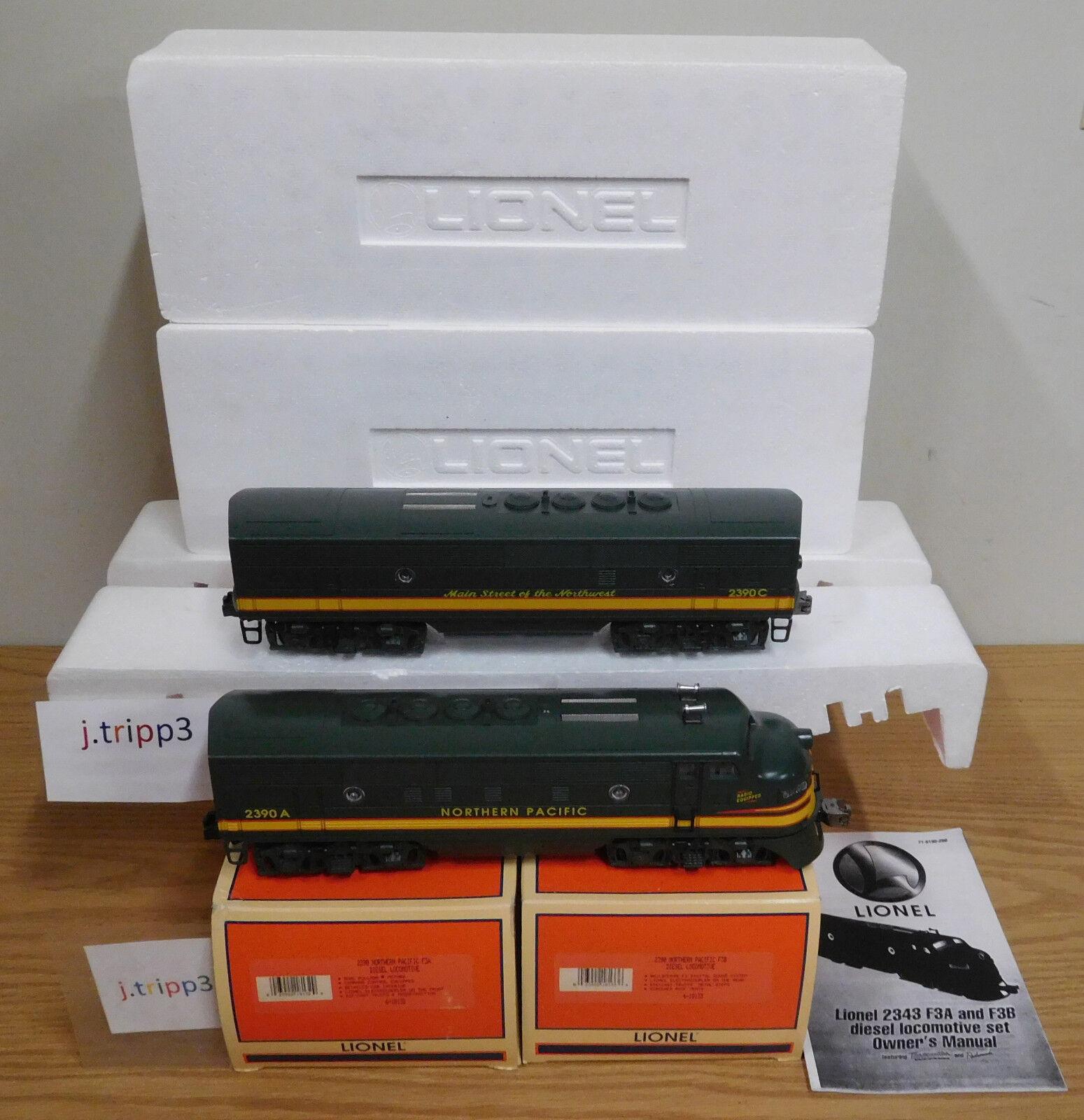 Lionel 18132 33 Pacífico del norte F-3 ab Motor Diesel Locomotora tren o calibre