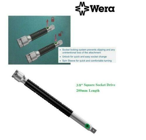 "Wera 8796 LB 073254 Zyklop Extension Bar 200mm Long x 3//8/"" Square Socket Drive"