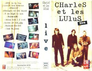 charles et les lulus live 1992 VHS