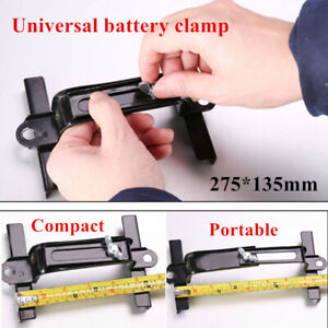 Universal Retainer Car Truck Adjustable Battery Hold Down Clamp Bracket Bolts