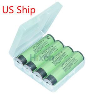 Hixon-4-PCS-Genuine-18650-Battery-Panasonic-NCR18650B-Li-ion-3400mAh-Button-Top
