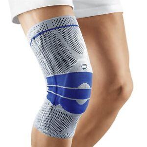 654272a222 Image is loading Sports-High-Compression-Silicone-Padded-Knee -Support-Sleeve-