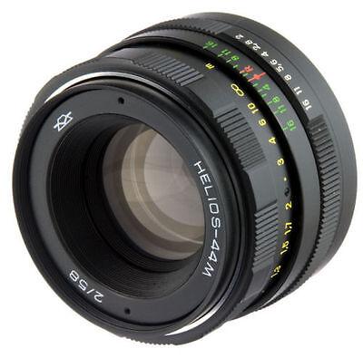 LOMO Russian LOGO HELIOS 44m Lens Canon EF Mount 6D 7D 5D Mark II III 44-2