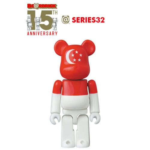 Medicom Be@rbrick Bearbrick Series 32 Flag Singapore