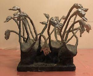 RARE-Vintage-Antique-Holocaust-Sculpture-By-CRAIG-Signed