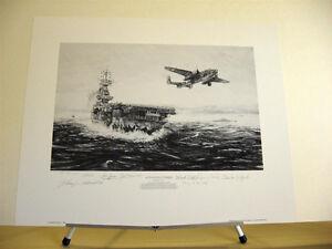 Avenging-Strike-Doolittle-Raiders-Robert-Bailey-Signed-Aviation-Art-Artist-Proof