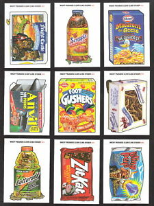 Topps 2004 Wacky Packages ANS1 Complete 55 card set 1st