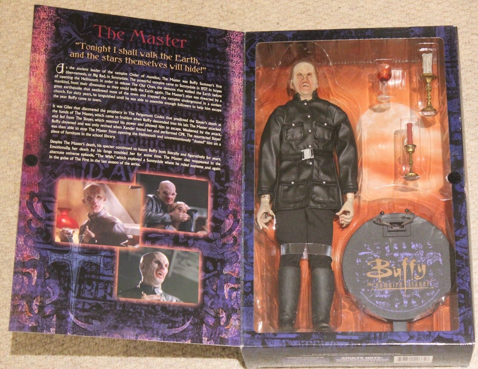 ... 1   6 buffy the vampire slayer mark metcalf vampir - meister 12  - figur