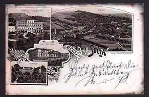 82020 AK Bad Sulza 1895 Vorläufer Schloss Sonnenstein Kinderheilbad Saline