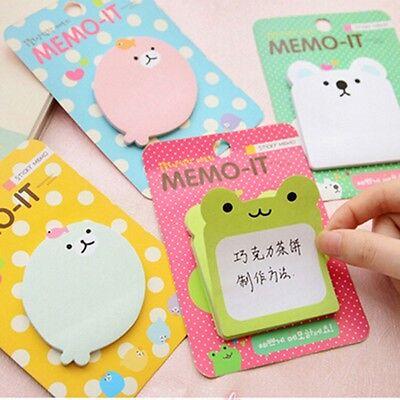 Heftchen Animal Sticky Notes Post its Memo Sticker Scrapbooking Aufkleber GEDE