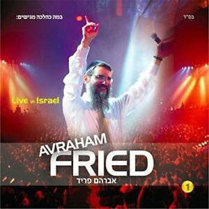 Live-in-Israel-by-Avraham-Fried-Artist-CD-Israeli-Jewish-worship-Music