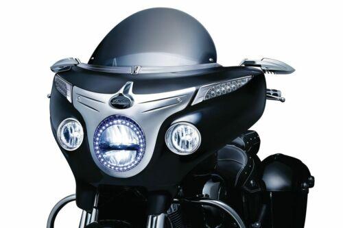 Kuryakyn Chrome Driving Light Bezels Accent Indian Roadmaster Cheiftain 5622