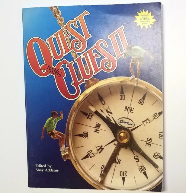 QUEST FOR CLUES II By Shay Addams & Marsha Meuse