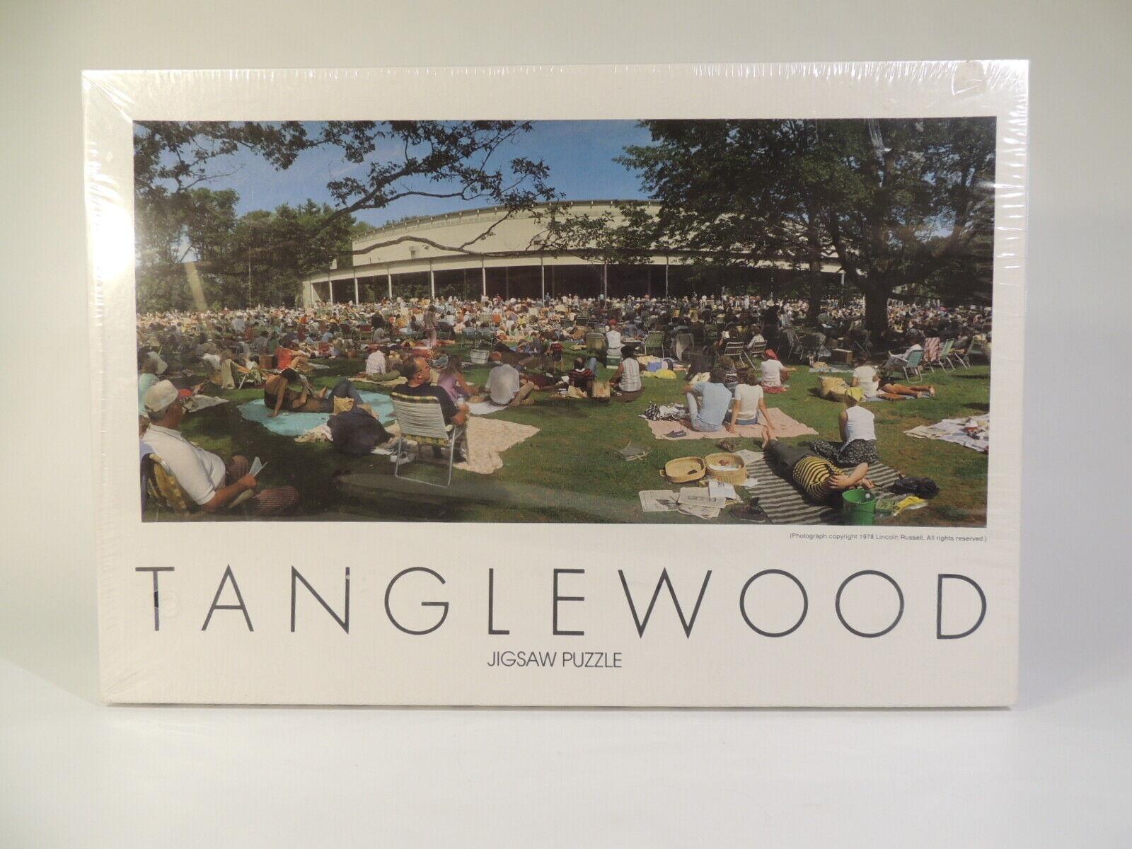Vintage NEUF SOUS EMBALLAGE SCELLÉ NOUVEAU Jigsaw Puzzle Tanglewood 1978 Boston Symphony Orchestra de masse