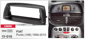 1999-2010 Car Stereo Fascia Dash Panel 1 Din Frame Trim Kit for FIATPunto 188