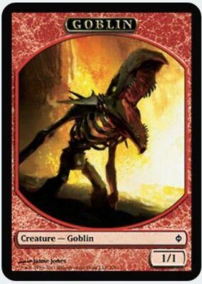 C Moderate Play FREE US SHIPPING! New Phyrexia MTG X2: Goblin Token