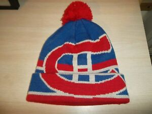 f155a3084 Details about MONTREAL CANADIENS KNIT CAP/BEANIE-CCM OSFM BOYS 8-20  RED-BLUE-GRAY/NHL/NEW!!!