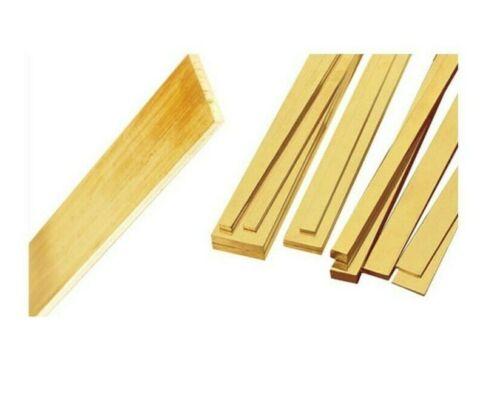 940mm Top Quality Grade Flat Bar. 660mm CZ121 Brass Flat Bar 750mm