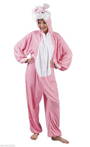 Plüsch Kostüm Hase Bunny Overall Häschen Rabbit Hasenkostüm Hasenoverall Tier