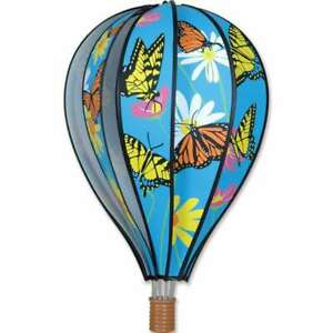"Premier Kites Hot Air Balloon BUTTERFLIES Wind Spinner (25768 - 22"" size)"