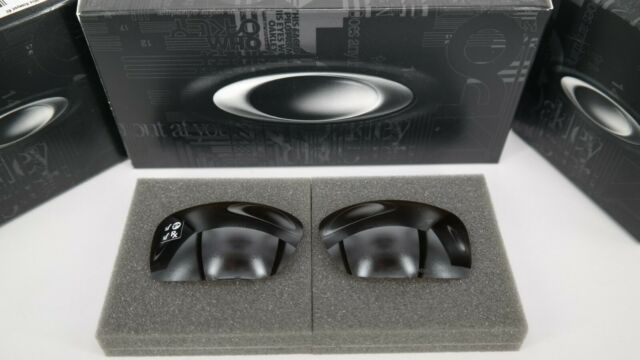 New Oakley SQUARE WIRE TUNGSTEN IRIDIUM POLAR OO4075 Replacement Lens Authentic