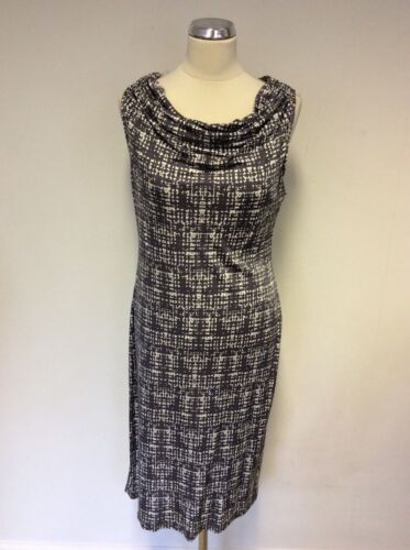 Size Grey amp; Pencil Dark Ghost Dress 16 White Print Oqw70nSx