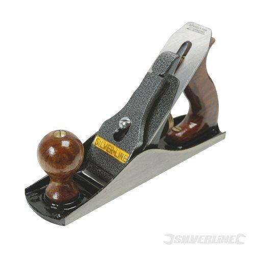 Nr Silverline 633465 Handhobel 50 x 2 mm 4 Hobelmesser