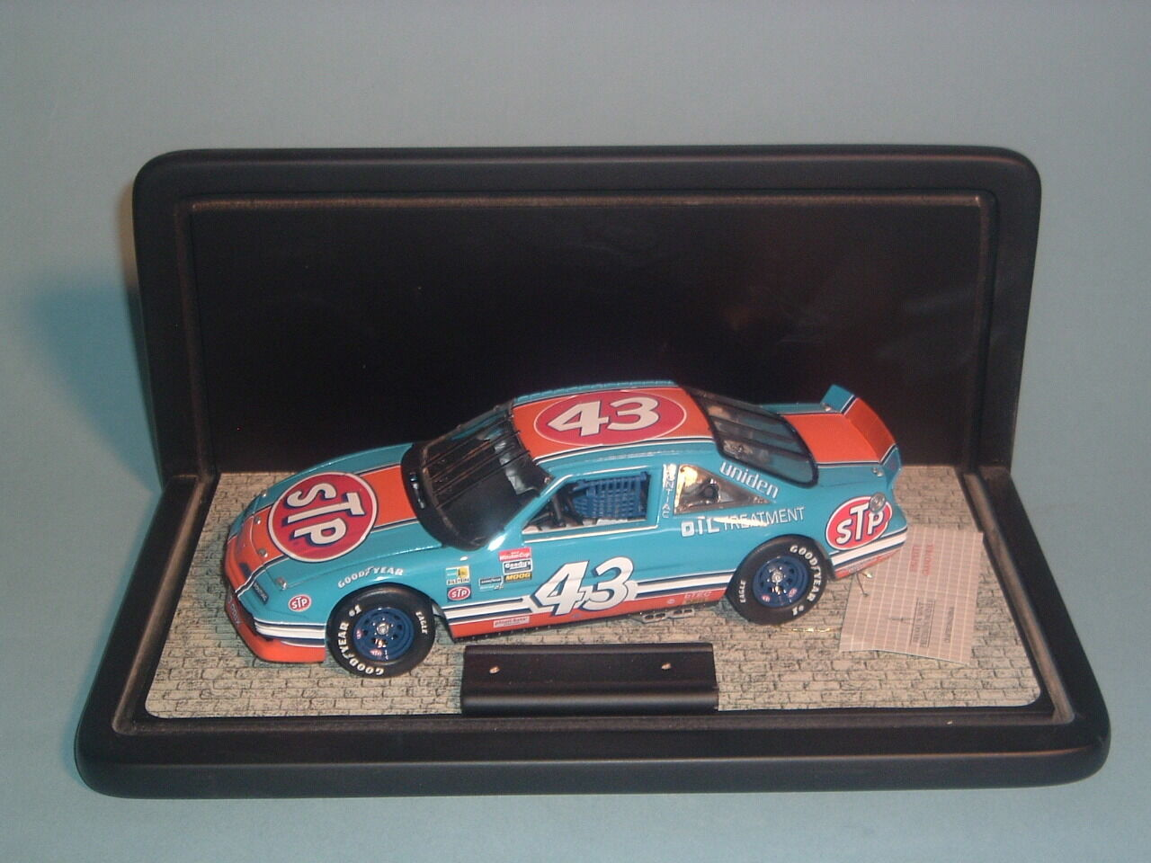Richard petty 1992  pontac grand - prix - fan anerkennung tour von franklin mint 1 24dcs