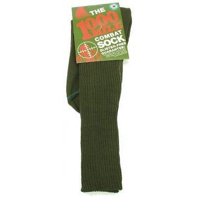 Gratis Uk 1000 Mile Combat Calze Esercito Militare Cadetti 100% Blister Libero Sock-
