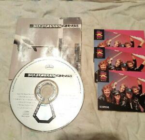 Scorpions-crazy-World-CD-proset-rock-music-cards-FREE-SHIPPING-usa-Canada
