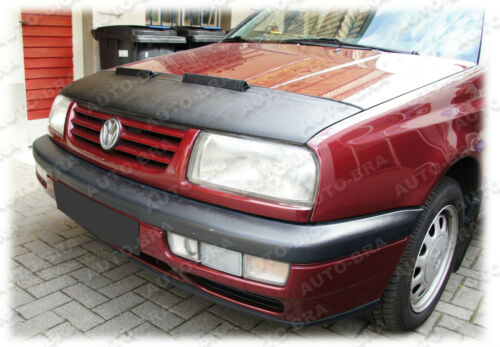 SUJETADOR de tapa para Volkswagen VW Jetta 3 Vento anti-chip capa Haubenbra tuning