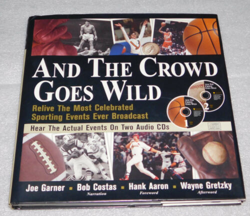 1 of 1 - Crowd Goes Wild Relive Most Celebrated Sporting Events Ever Broadcast HC