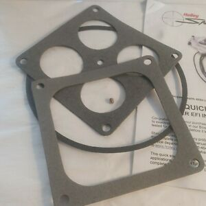 Holley Sniper EFI Fuel Injection System Stealth 4500 MANUAL& GASKETS ONLY NEW