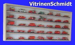 VitrinenSchmidt-075-Vitrine-Modell-Auto-Feuerwehr-Fahrzeuge