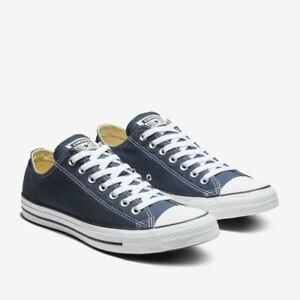4e39e3d944c0 Converse Chuck Taylor All Star OX LOW Canvas Men Shoes Navy Blue ...