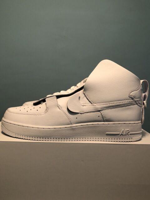 5fa0a177d94100 Nike Air Force 1 High PSNY White-white-white-black Sz 13 Ao9292-101 ...