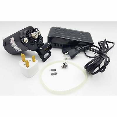 Sewing Machine Motor Controller Foot Pedal 220v 120w Free Belt Servo Home Repair