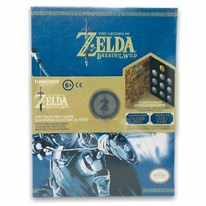 The-Legend-of-Zelda-Breath-of-The-Wild-Coin-Collector-039-s-Album-Thinkgeek-2018