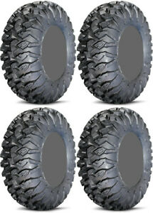 Four-4-EFX-MotoClaw-ATV-Tires-Set-2-Front-28x10-14-amp-2-Rear-28x10-14