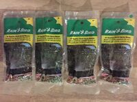 (lot Of 4) Shrubbery Spray Head,no A-17-q, Rainbird National 90 Degrees Quarter